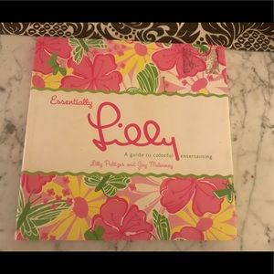 Lilly Pulitzer essentially lilly coffee table book